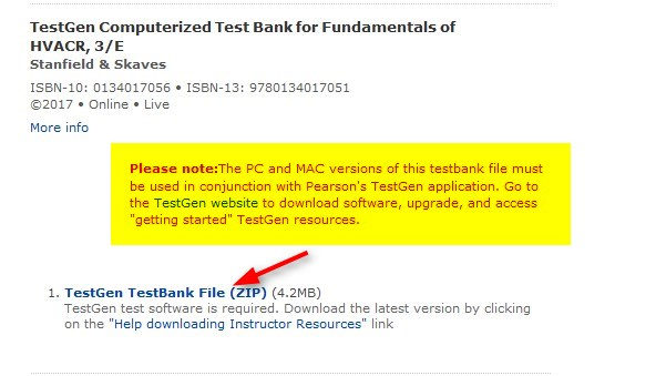 Pearson Test Banks | eStarkState Teaching and Learning