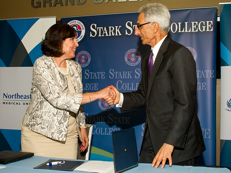 Stark State College And Neomed Solidify Partnership Stark State