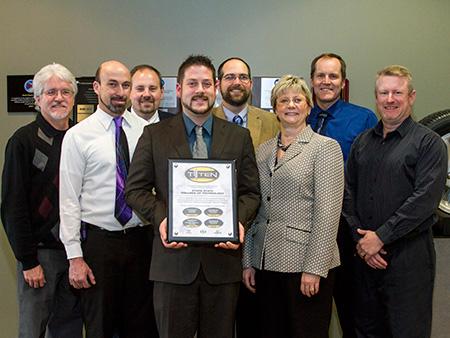 T-TEN certification awarded