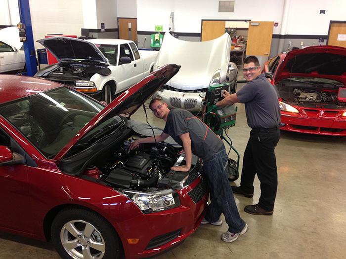 GM donates vehicles