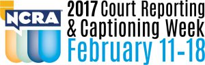 Court Reporting and Captioning Week