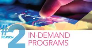 In-demand Porgrams