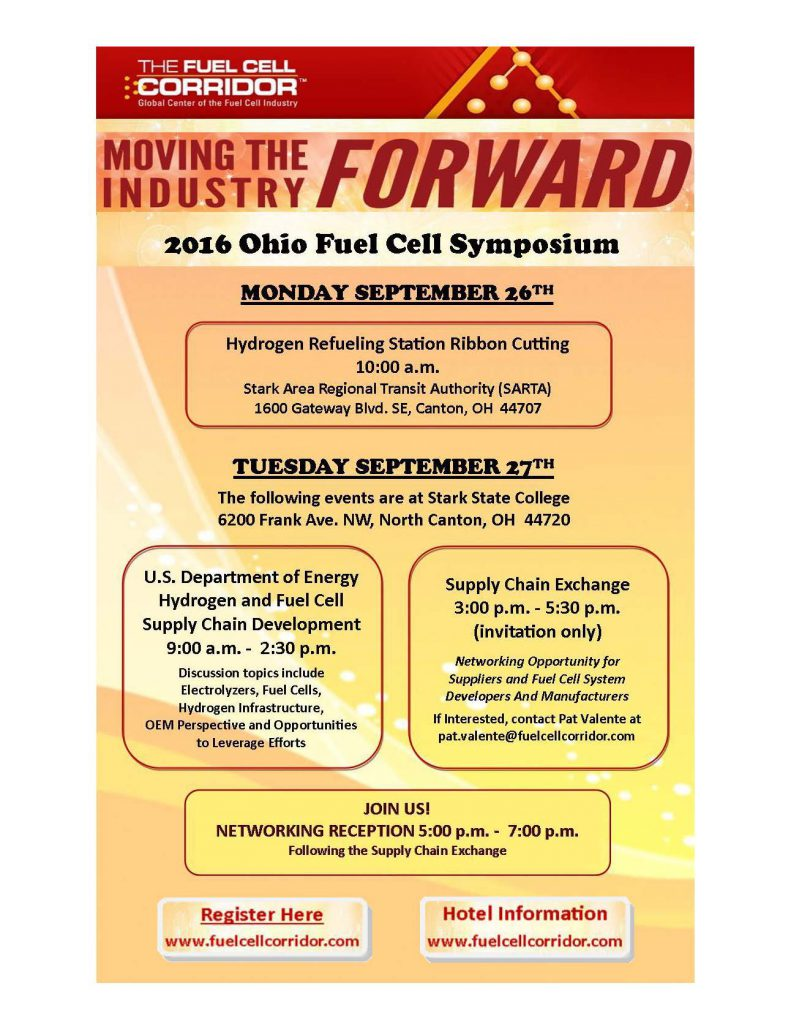 2016 Ohio Fuel Cell Symposium