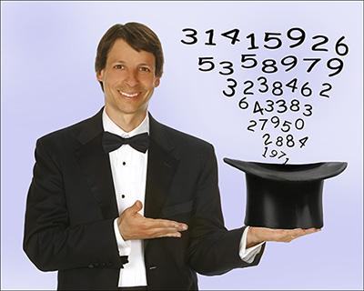Dr. Arthur Benjamin, a magician