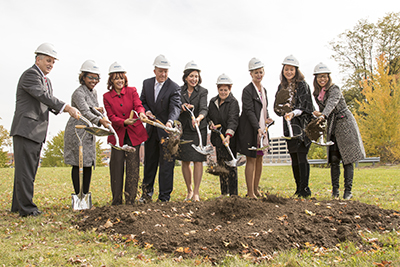 SSC Akron Groundbreaking
