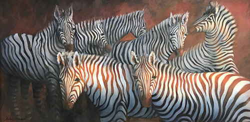 """Zebras"" by Nancy McDonald"
