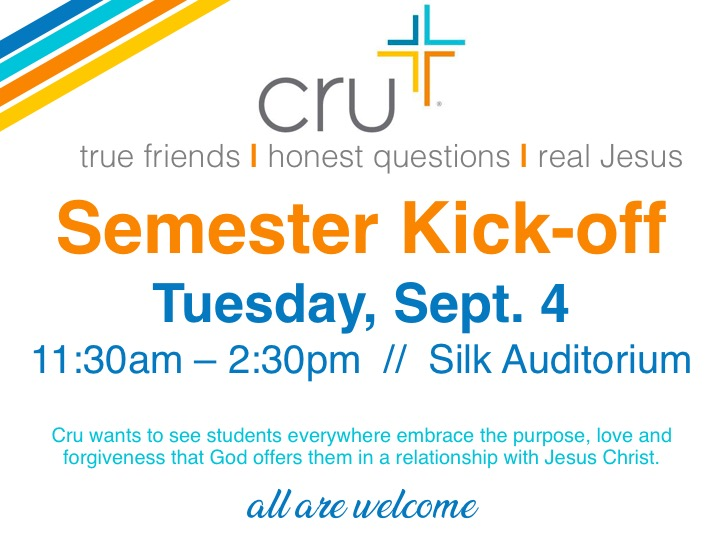 Cru kick-off meeting