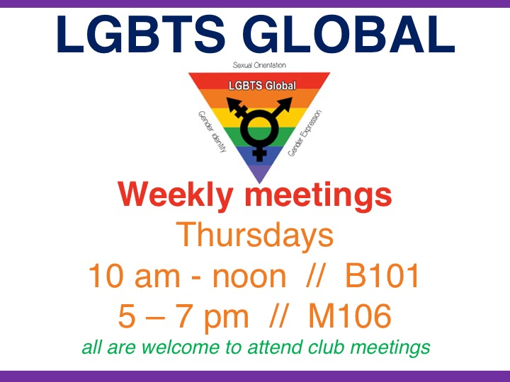 LGBTS Global weekly meeting