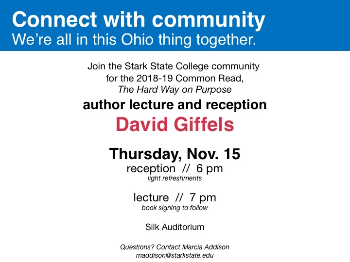 Common Read - Author lecture and reception