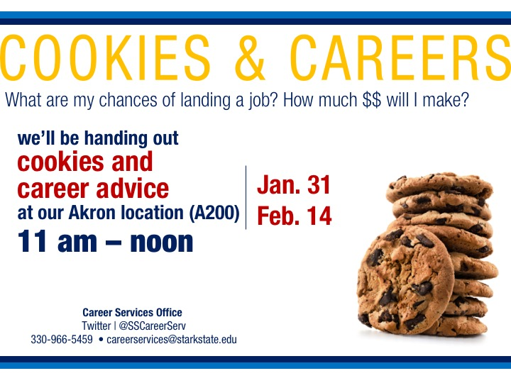 SSC Akron // cookies and careers with career services