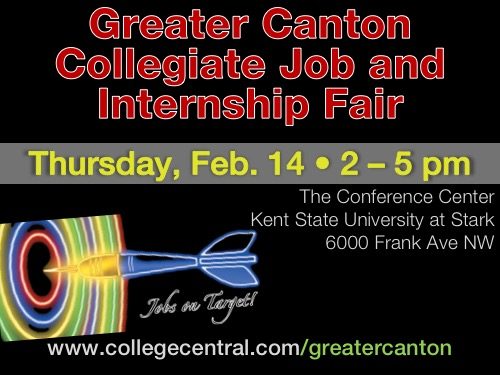 Greater Canton Collegiate Job and Internship Fair @ Kent State University at Stark, Conference Center