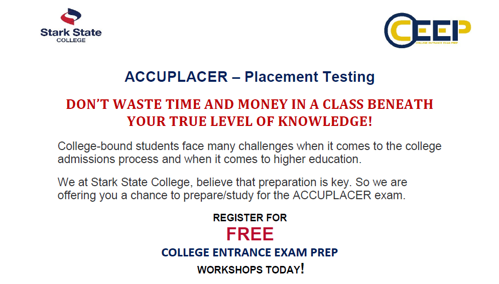 College Entrance Exam Preparation (CEEP) workshop