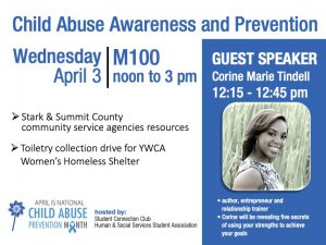 Child Abuse Awareness and Prevention @ main campus (M101)