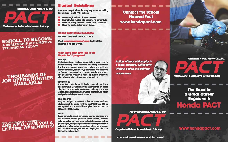 Honda PACT brochure