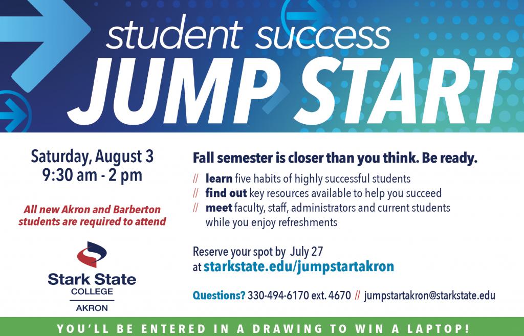 SSC Akron | Jump Start @ Stark State College Akron