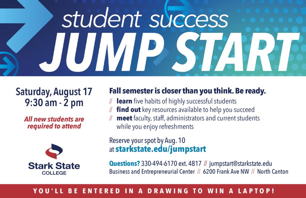 Jump Start @ main campus