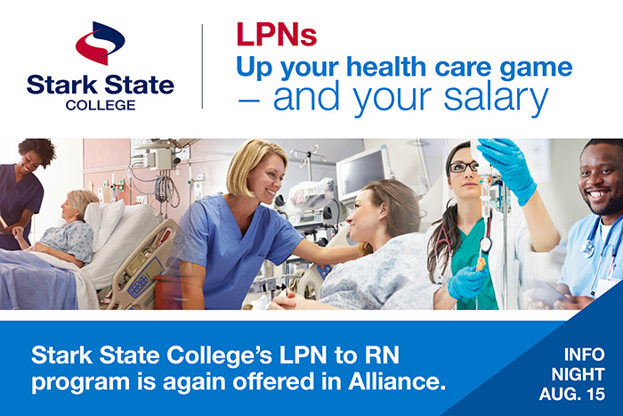 LPN to RN info night at Alliance
