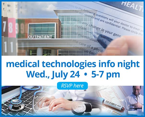 Medical Technologies info night