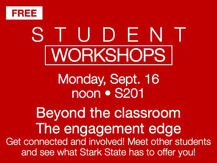 Student Workshop | The Engagement Edge @ main campus | S201