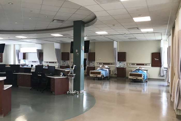 SSC Akron medical lab