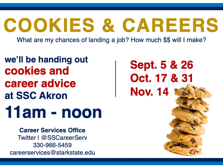SSC Akron | Cookies & Careers @ SSC Akron