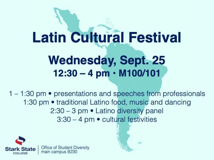 Latin Cultural Festival @ main campus | M100/101