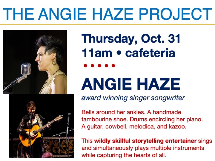 The Angie Haze Project @ Main campus cafeteria