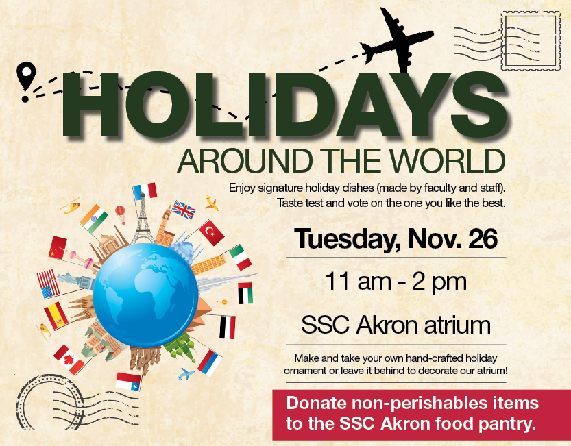 SSC Akron | Holidays around the World @ SSC Akron