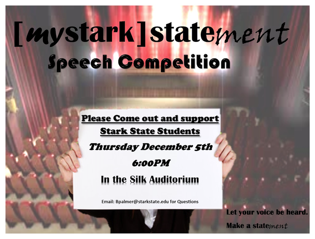 [mystark] stateMENT speech competition @ main campus Silk Auditorium