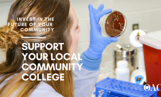 OACC support local community college