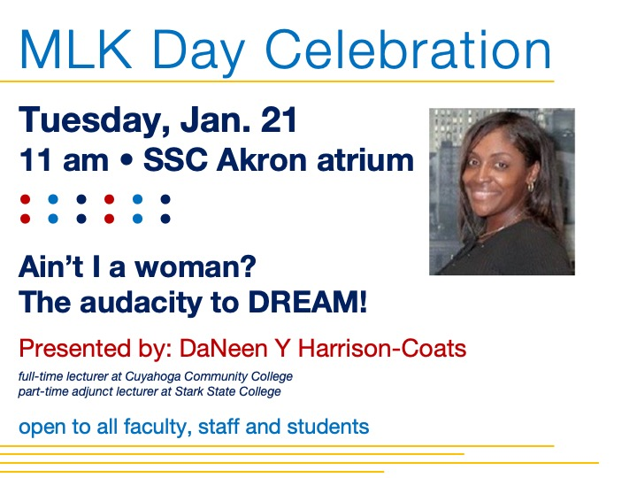 SSC Akron | MLK Day celebration @ SSC Akron atrium