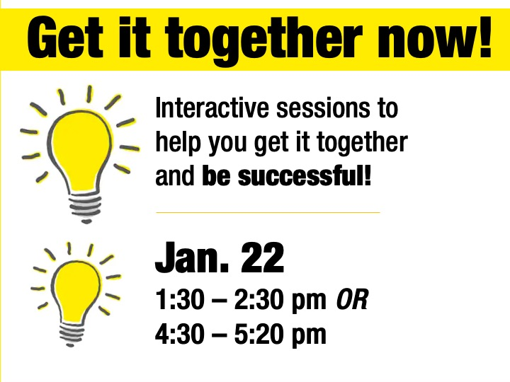SSC Akron | Get it together now sessions @ SSC Akron