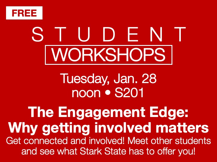 student workshop - The Engagement Edge @ main campus | S201