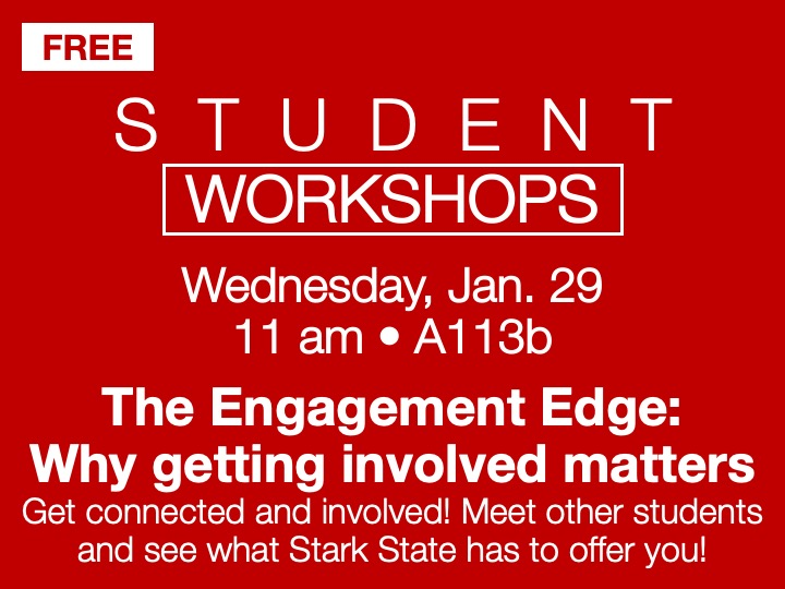 SSC Akron | The Engagement Edge - student workshop @ SSC Akron | A113b