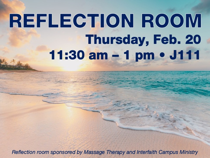 Reflection room @ Main campus | J111
