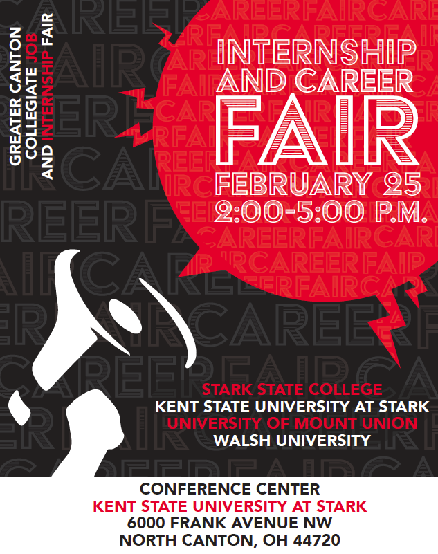 Greater Canton Collegiate Job and Internship Fair @ Kent State University at Stark Conference Center