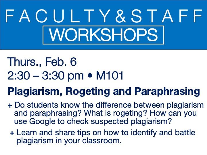 feb 6 workshop