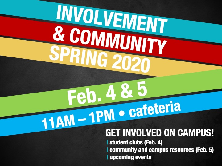 Involvement and Community Fair @ Main campus cafeteria