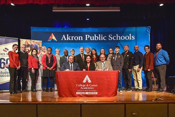 Akron Public Schools, Stark State College and University of Cincinnati create partnership