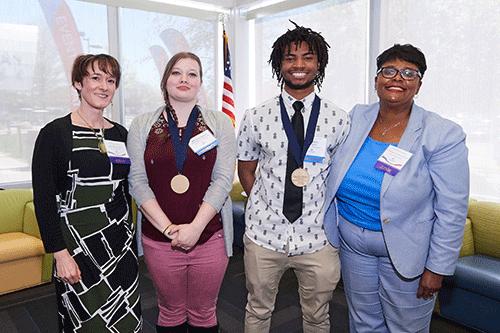 Honors program graduates