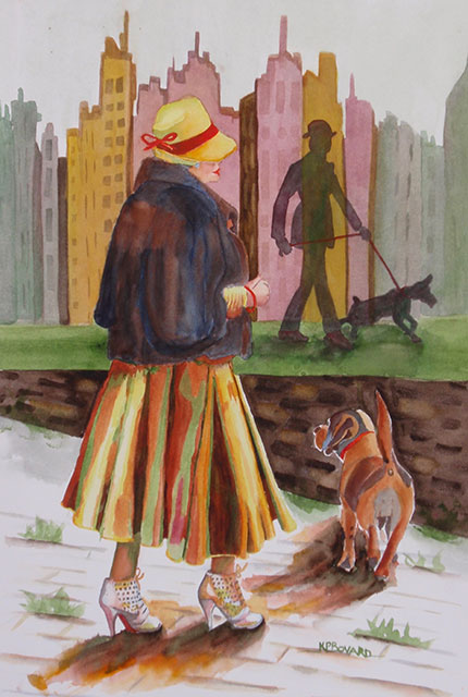 Tails in the City by Kathy Prosser Bovard