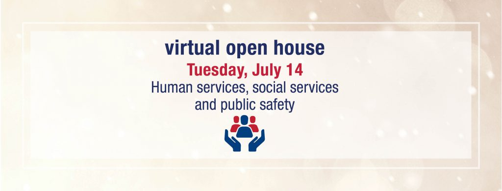 Virtual open house: human and social services and public safety