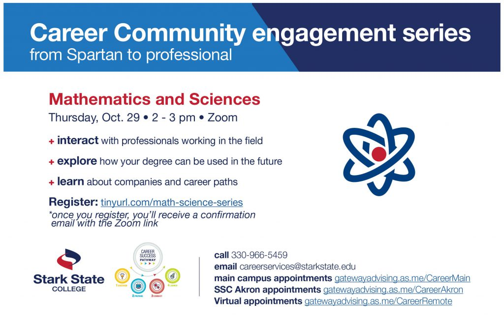 Career Community engagement series: Mathematics and Sciences