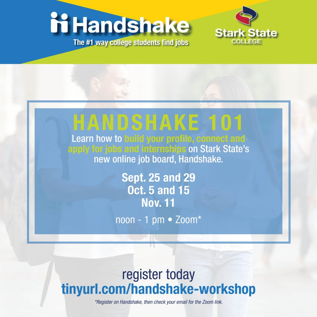 Handshake 101 virtual workshop