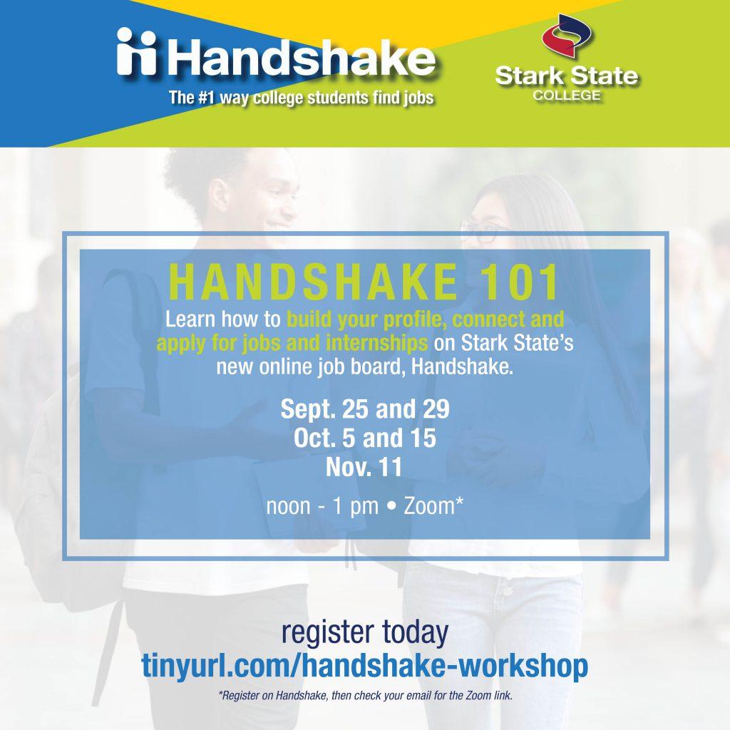 Handshake 101 virtual workshop