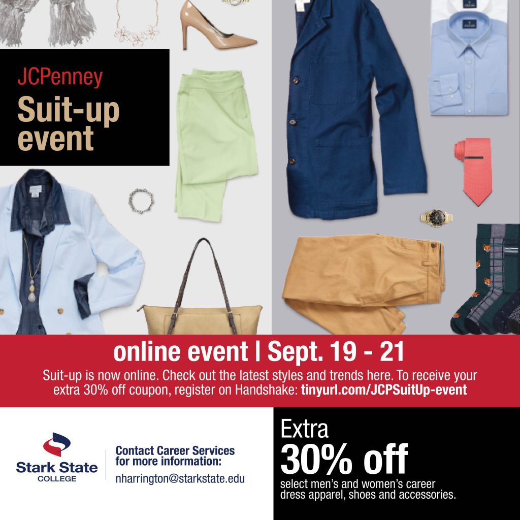 JCP suit up event