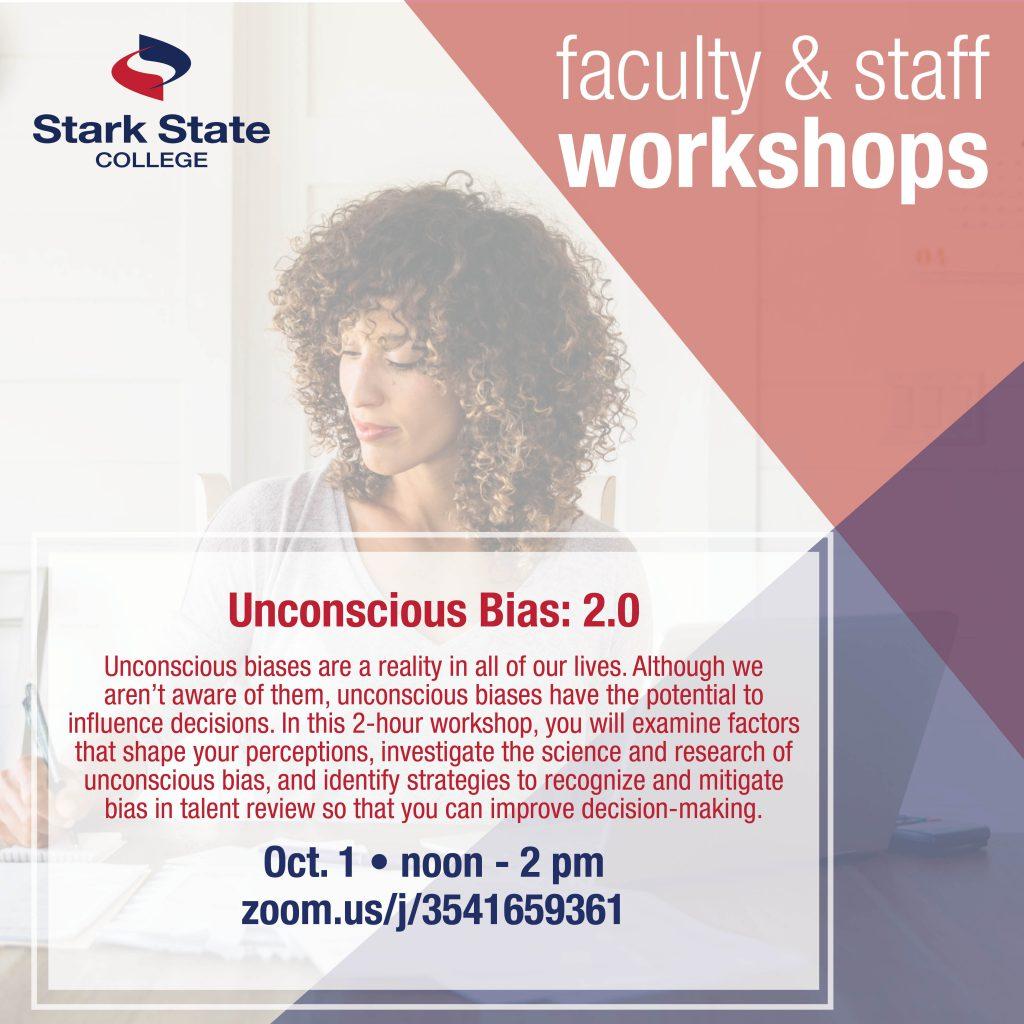 oct 1 fac/staff workshop