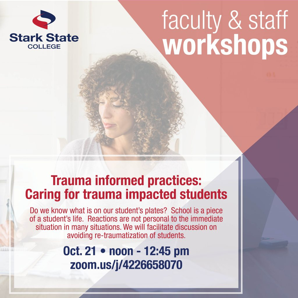 Oct 21 fac/staff workshop