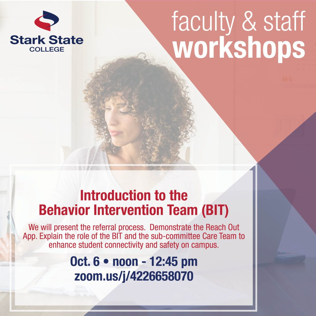 oct 6 fac/staff workshop