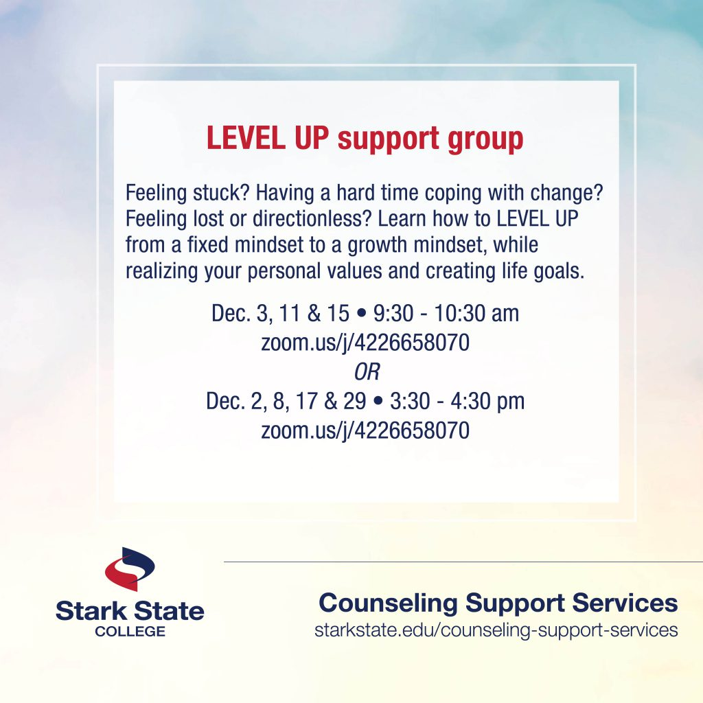 level up support group